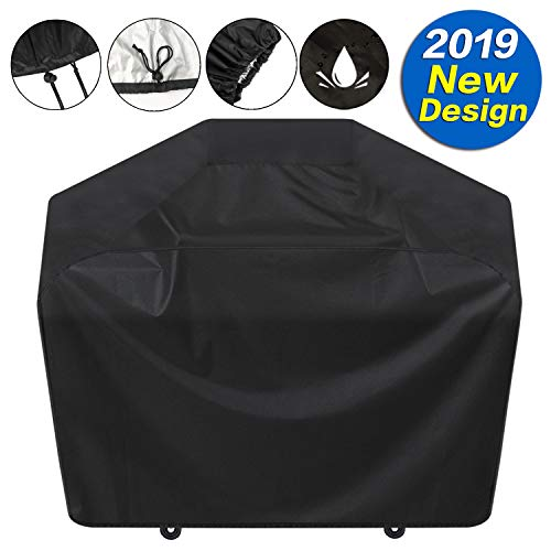 "SARCCH Grill Cover,(58"" Black) BBQ Special Grill Cover,Waterproof and  UV Resistant Material, Durable and Convenient,Fits Grills of Weber Char-Broil Nexgrill Brinkmann and More"