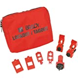 Brady 120/277V Breaker Lockout Pouch, Padlocks and Tags Not Included
