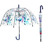 iMucci Dream Catcher POE Umbrella Clear Bubble Transparent Umbrella Automatic Open Umbrella Outdoor
