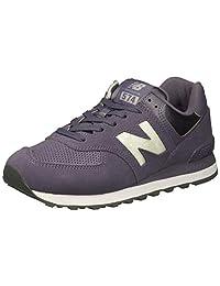 New Balance Womens 574 Core Sneaker, deep Cosmic Sky/Marblehead, 5 B US