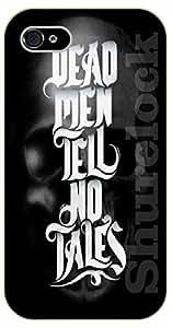 iPhone 5C Dead men tell no tales - black plastic case / Walt Disney And Life Quotes