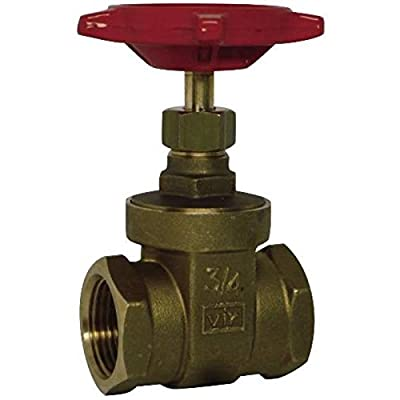 """Red-White Valve 12RW206AB Lead Free Commercial Gate Valve Threaded, 1/2"""" from Standard Plumbing Supply"""
