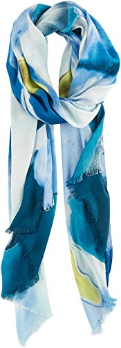 UPC 888472639542, Vince Camuto Women's Blurred Blooms Wrap, Legion Blue, One Size