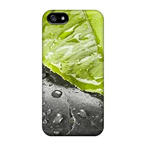 High-quality pragmatic Protection For LG G3 Phone Case Cover (nature Plants Leaf On Stone)