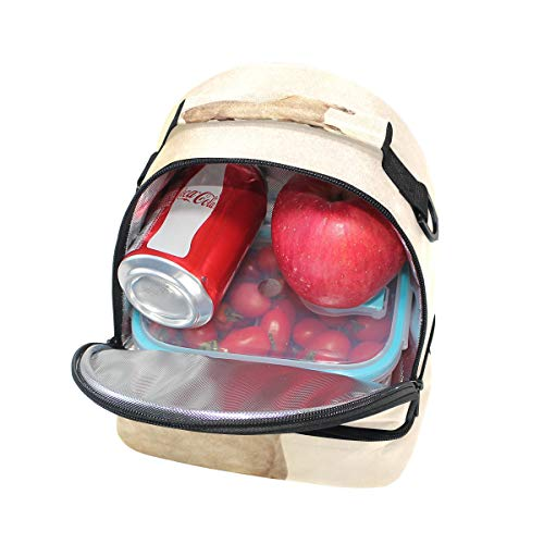 doble almuerzo picnic para Bolso hombro el con de ajustable para correa qFwE5EfHn