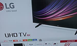 LG 49UH6090 Series 49'' 4K UHD Smart LED TV