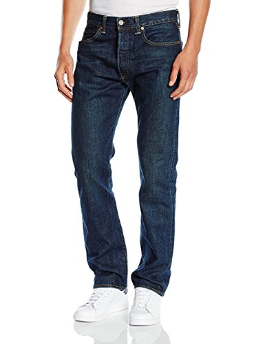 Levi's 501 Levisoriginal Fit, Jeans Uomo Blu (linedry 2118)