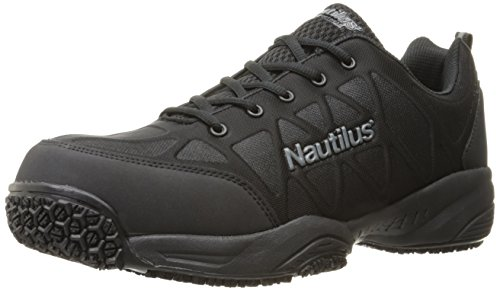 - Nautilus 2114 Comp Toe Light Weight Slip Resistant Athletic Shoe, Black, 12 M US