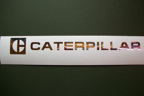 CATERPILLAR CHROME Decal 1 1/2