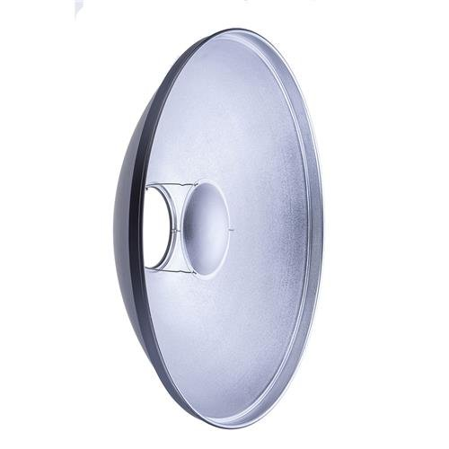 Glow 28'' Silver Beauty Dish for Broncolor Visatec Mount by Glow