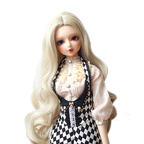 High Temperature Synthetic Fiber Hair Wig BJD Doll Wigs for 1/3 1/4 1/6 BJD SD Doll (613C)