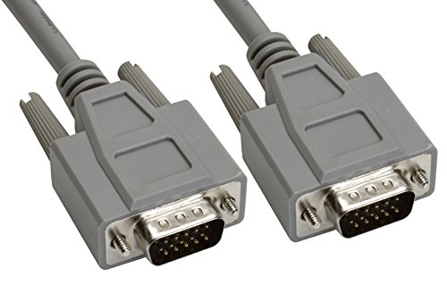 Amphenol CS-DSDHD15MM0-015 15-Pin HD15 Deluxe D-Sub Cable...