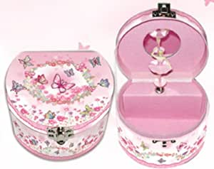 Butterfly musical trinket box spinning fairy for Best selling jewelry on amazon