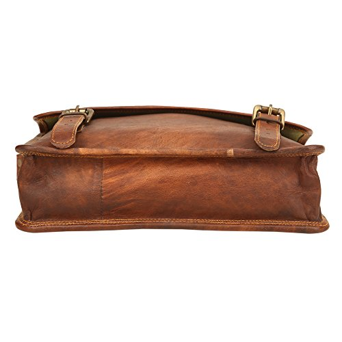 Ayemann Crafts  Artico bag02, Borsa Messenger  Marrone Brown