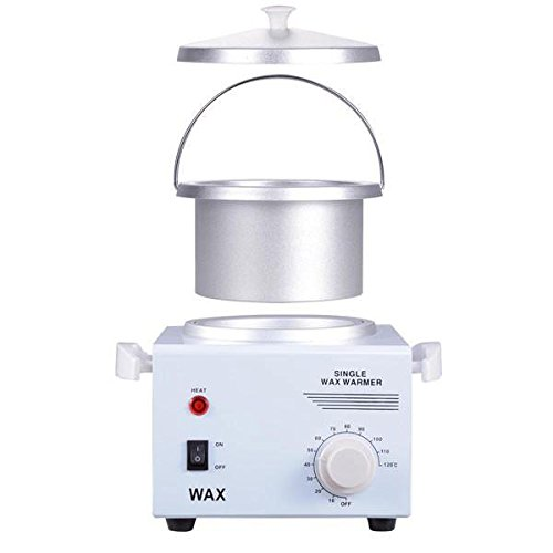 Portable 1 Container Electric Hot Wax Warmer Heater Facial Skin Hair Removal Spa Salon Tool for Smooth Sexy Hair-free Bodies