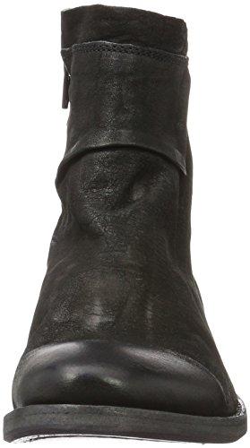 Mentor Ankle Boot, Zapatillas De Estar por Casa para Mujer Negro