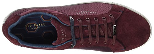 Eeril Ted Rouge Baker Dk Homme Baskets Red Ted Baker Red tZFdwqq