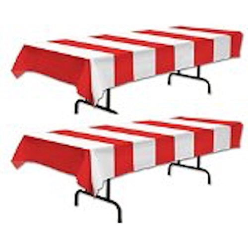Stripe Carnival Tablecover happy deals