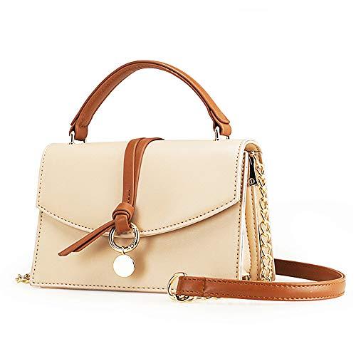Small Leather Crossbody Purse Fashion Satchel Handbags Shoulder bags for Women Chain Strap