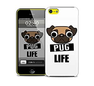 pug life iPhone 5c protective phone case