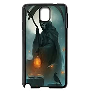 -ChenDong PHONE CASE- For Samsung Galaxy NOTE4 Case Cover -Santa Muerte-UNIQUE-DESIGH 5