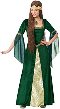 Green Renaissance Lady Adult Costume