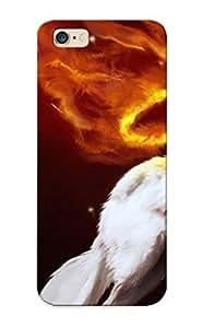 Freshmilk Faddish Phone Stars Okami Brown Capcom Wolves Case For Iphone 6 Plus / Perfect Case Cover
