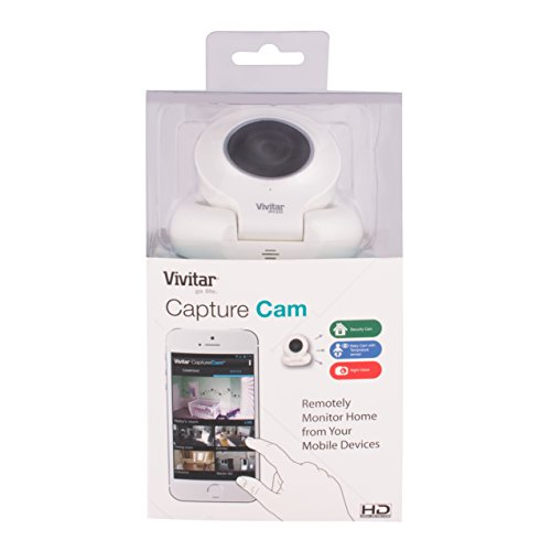 Vivitar Smart Home Capture Cam 2 White Ipc222 Wht Pr