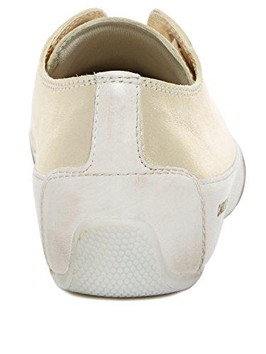 Candice Cooper - Zapatillas de Cuero para mujer dorado