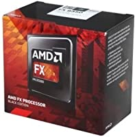 AMD FX-6350 Black Edition CPU (AM3+, Hex Core, 3.90GHz, 14MB, 125W, Advanced Bit Manipulation, Heat Sink Fan)