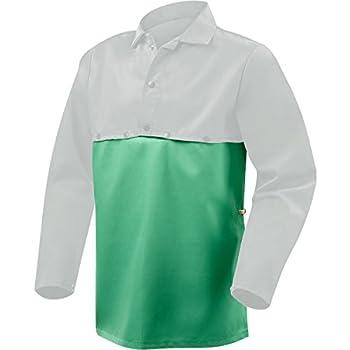 Steiner 10315  Bib, Weldlite Green 9.5-Ounce Flame Retardant Cotton , 19-Inch (3-Pack)