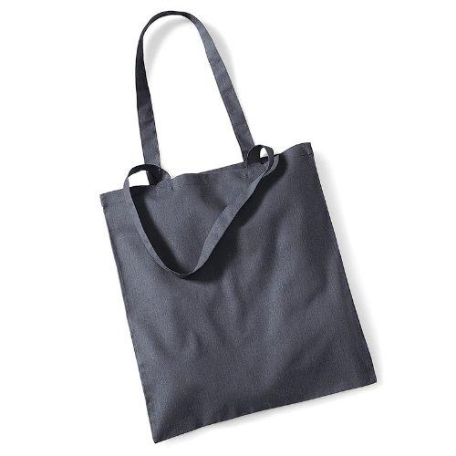 Westford Mill Promo Bag for Life, Baumwolle, Schultertasche, Shopper, Handtasche, One Size Rot - Burgunderrot