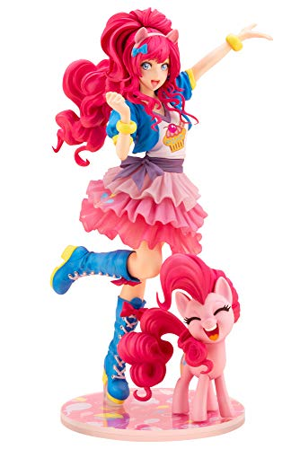 Kotobukiya SV228 My Little Pony: Pinkie Pie Bishoujo Statue, Multicolor -