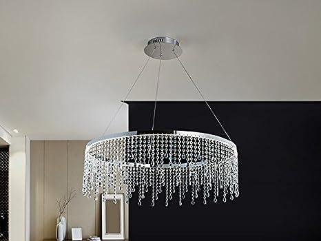Hogar Decora LAMPARA LED ·Anastasia· Ø80: Amazon.es: Hogar