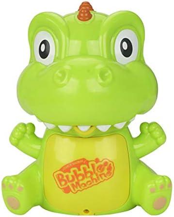 oenbopo Kids Bubble Machine Electric Bubble Maker Cartoon Bubble Blower with Music Light Effect for Kids Toddler Boys Girls
