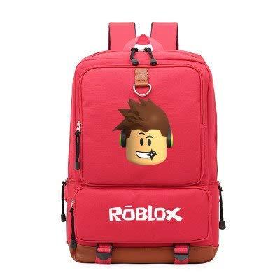 DingXiong 2018 Roblox Game Mochila Casual para Adolescentes Niños Niños Estudiante Escuela Bolsas de Viaje Bolsa de Hombro UniLaptop: Amazon.es: Jardín