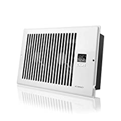 Overview A quiet fan system designed to be mounted onto wall or floor registers to boost airflow. By increasing warm and cool air coming from weak registers, you can increase room comfort and reduce energy costs. Features a LCD display with s...