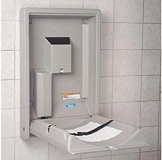 product image for KB101-00 Baby Changing Station, Vertical, Flush Mount, Polyethylene