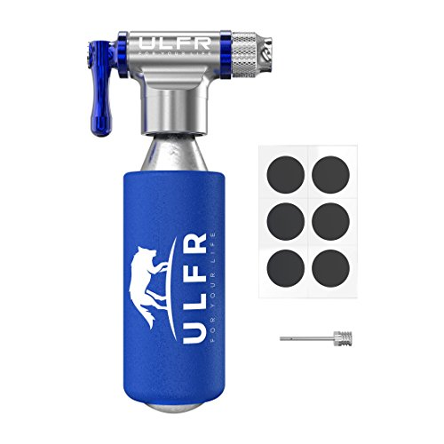 Balance Ball Repair Kit: Premium Quality CO2 Bicycle Tire Inflator By ULFR