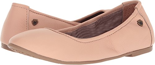 Minnetonka Casual Shoes Womens Anna Ballerina Leather Chocolate 258 (11 B(M) US, Blush Leather)