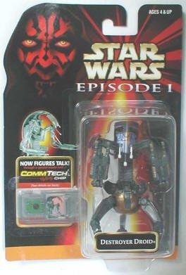 (Star Wars Episode I Battle Damaged Destroyer Droid Action Figure )