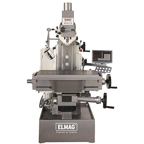 Elmag - WFM 210 - herramienta de-fresadora 400 V: Amazon.es: Bricolaje y herramientas