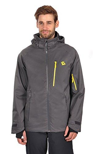 (Volkl Men's Team Race Jacket (XL, Iron))