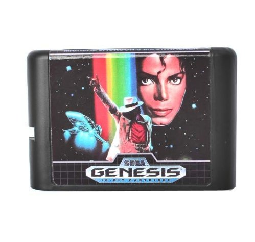 Used, Taka Co 16 Bit Sega MD Game Micheal Jackson's Moonwalker for sale  Delivered anywhere in USA