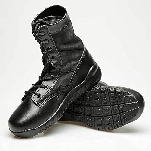 HCBYJ Schuhe Die taktischen Stiefel für Damen und Herren sind ultraleichte Kampf-Wüstenstiefel