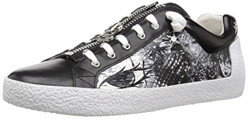 Ash Women's Nova BIS Sneaker, Black, 38 Medium EU (8 US)