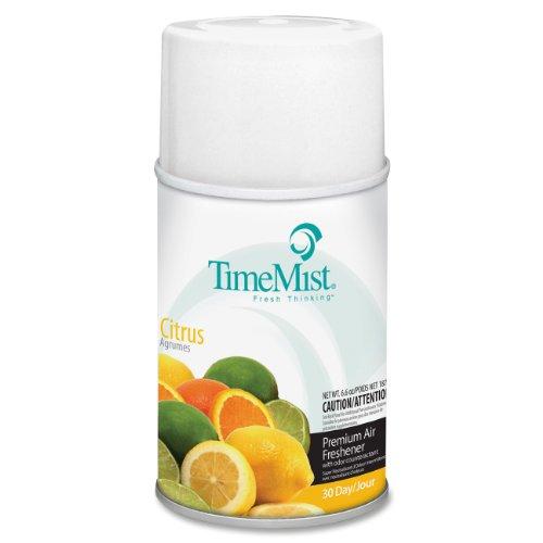 TimeMist Metered Fragrance Dispenser Refill, Citrus 6.6 Ounce Aerosol Can (332508TMCA)