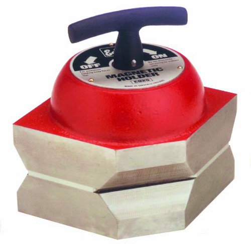 Eclipse Magnetics E925 Magnetic Holder, 220 lb. Pull Capacity, 4.25'' Length, 4.25'' Height, 5.5'' Width
