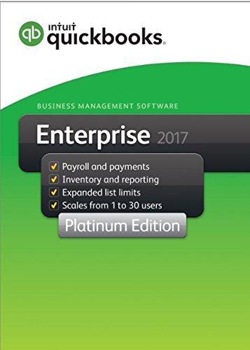 QuickBooks Enterprise 2017 Platinum Edition, 5-User