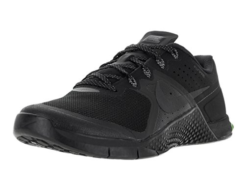NIKE Mens Metcon 2 Synthetic Trainers, Black/Black/Cool Grey/Volt, 12 D(M) US For Sale